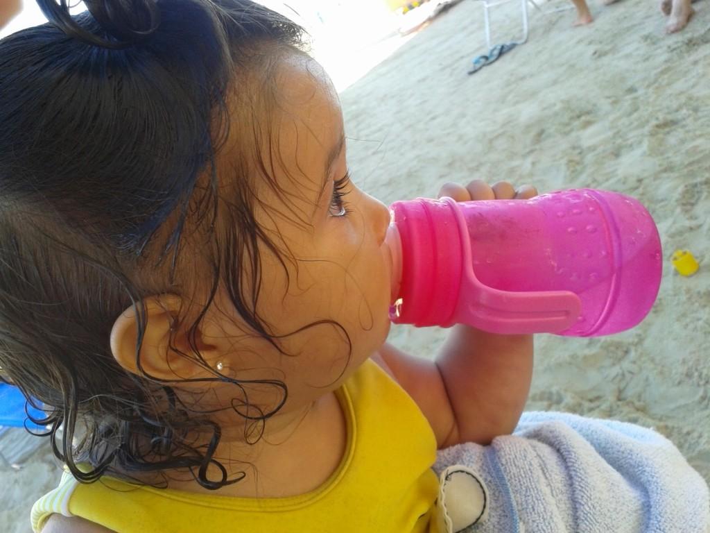 Praia bebê