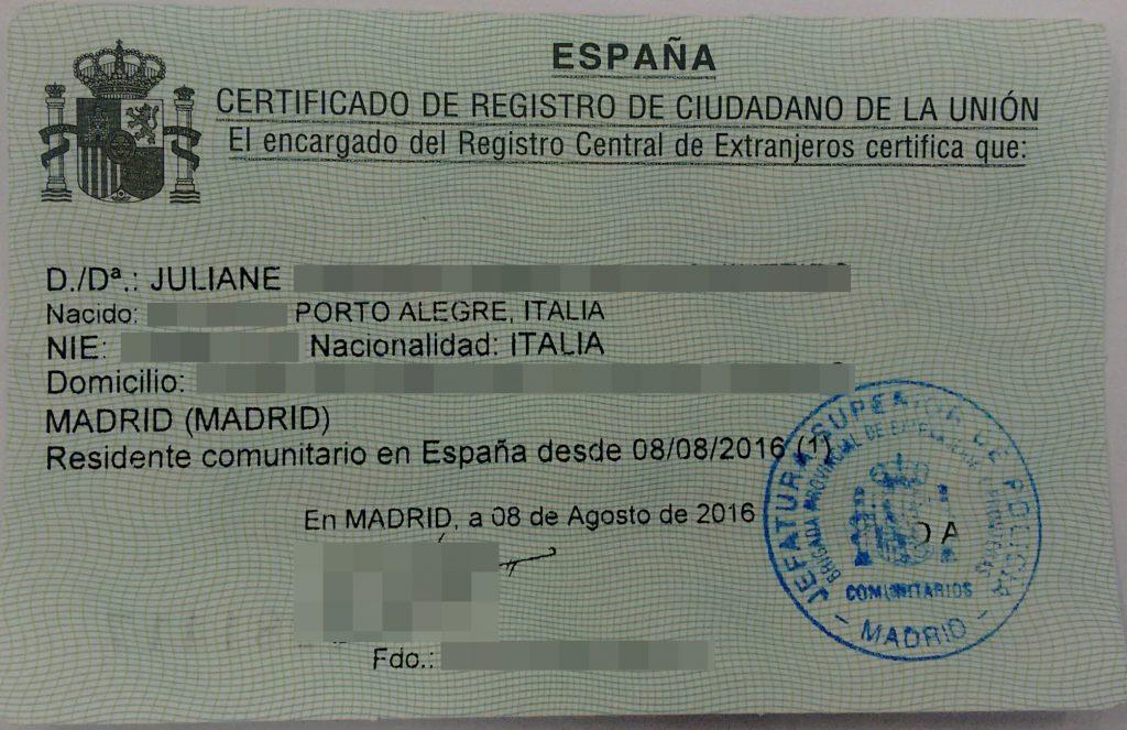 morar e trabalhar na Espanha
