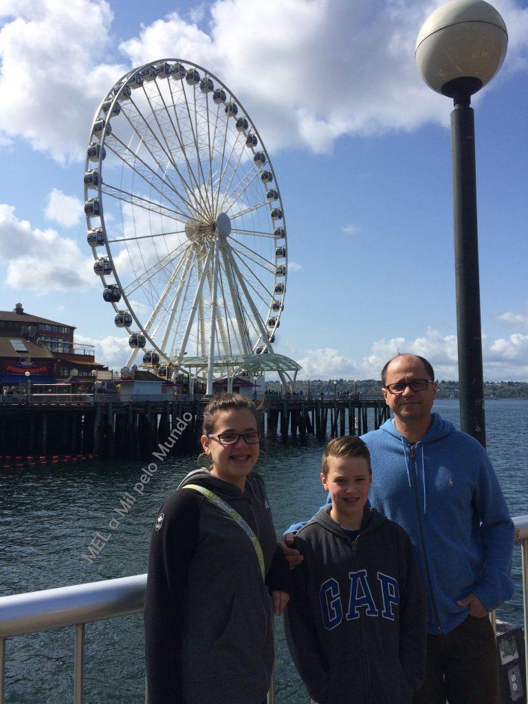 Seattle em 3 dias com crianças GREAT WHEEL