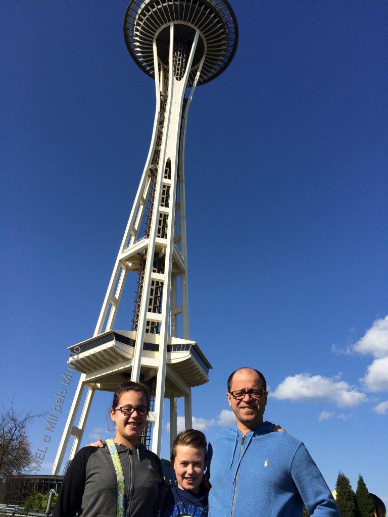 Seattle em 3 dias com crianças space needle
