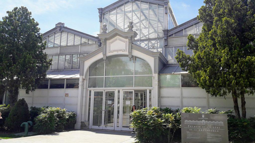 palacio de cristal de arganzuela fachada