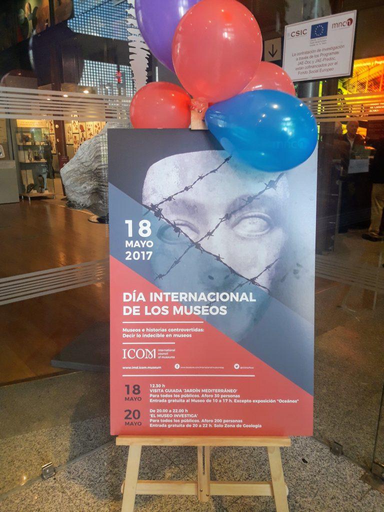 museu ciencias naturais madrid 18 mayo